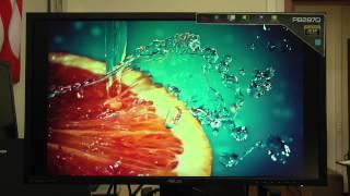 Видеообзор 4K-монитора ASUS PB287Q