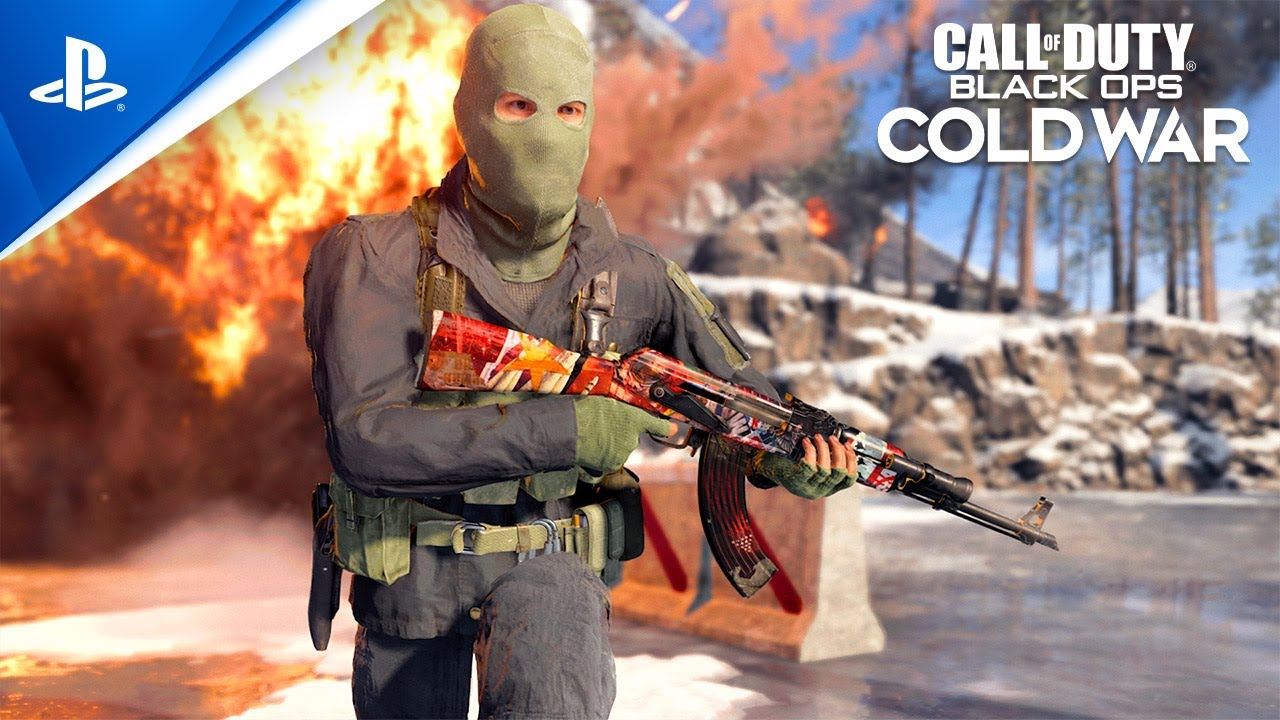 Call of Duty: Black Ops Cold War – Confrontation Weapons Pack   PS4