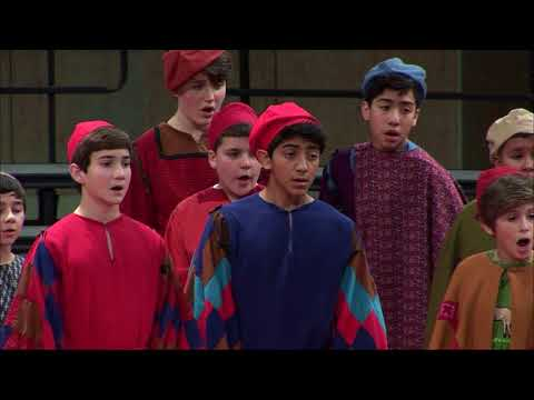 Texas Boys Choir, A Ceremony of Carols (Benjamin Britten), staged version, 1/22/2017