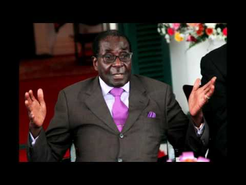 President Mugabe addressing the second meeting of the Zanu-PF Central Committee