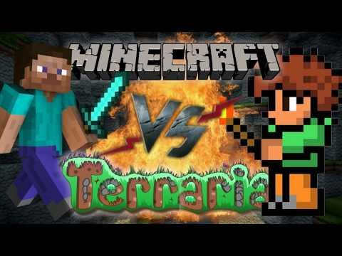 Terraria Сравнение с Minecraft