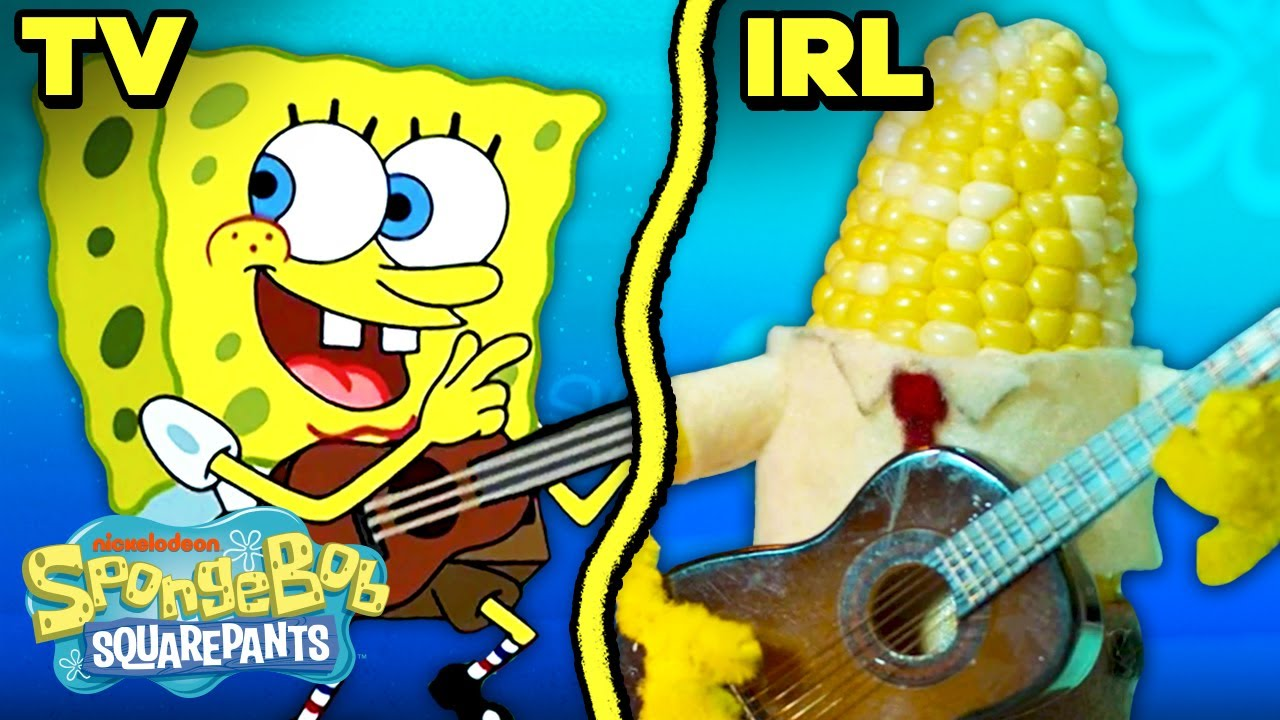 "Download The ""Campfire Song Song"" IRL! ⛺️🔥 SpongeBob"