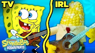 "The ""Campfire Song Song"" IRL! ⛺️🔥 SpongeBob"