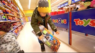 "Nerf Shopping at Toys""R""Us"