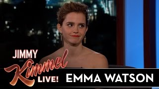 Emma Watson Visits Shanghai Disney