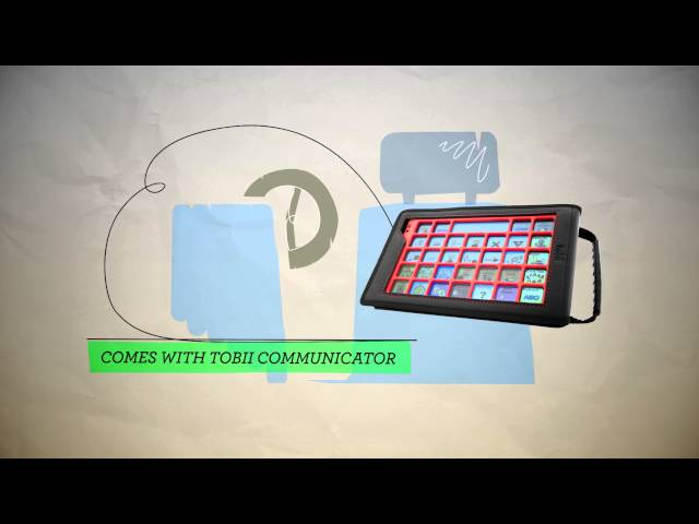 Tobii M-Series - Provides quick and easy communication for AAC users