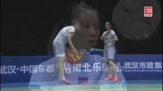 Lu Kai / Huang Yaqiong vs Lee Chun Hei / Chau Hoi Wah - 2017 Badminton Asia Championships XD SF [HD]