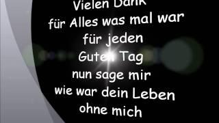 Die Toten Hosen - Alles was war (Lyrcis)
