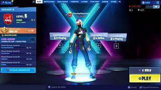Playing Fortnite Season 10-Giveaway At 500 Subs #300subs #LionSquad