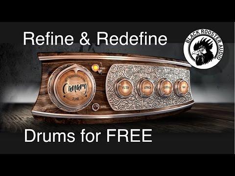 🎛 Free - THE CANARY - Drum Transient - BLACK ROOSTER AUDIO