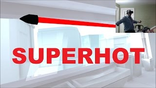 Dodging Bullets Like In Matrix - Superhot (Oculus Touch)