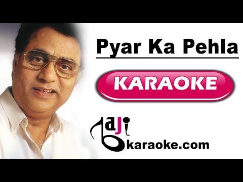 Pyar ka pehla khat likhne mein - Video Karaoke - Jagjeet Singh - by BAJI KARAOKE