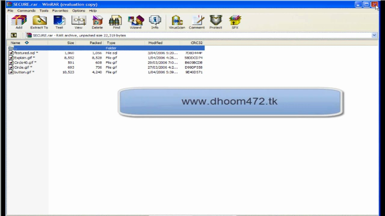 how to put password on zip file windows 7