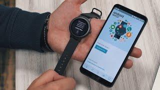 Распаковка LG G6 и LG Watch Style рядом с Galaxy S8+ и Xiaomi Mix