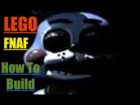 How to build lego five nights at freddy s toy bonnie youtube