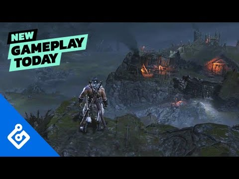 New Gameplay Today – Diablo IV's Barbarian