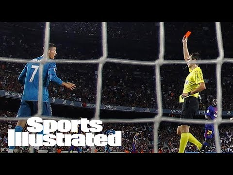 Cristiano Ronaldo Hit With Five-Game Ban After Pushing Referee | SI Wire | Sports Illustrated