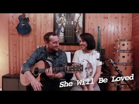 She Will Be Loved - Maroon 5 | Alyssa Bernal & Aaron Gibson
