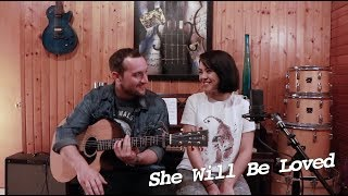 She Will Be Loved - Maroon 5 | Alyssa Bernal & Aaron Gibson
