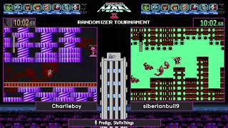 Mega Man 2 Randomizer Tournament SHOWCASE RACE 5