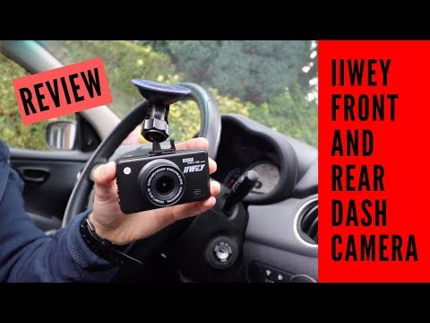 BEST BUDGET DASH CAMERA SET? IIWEY FRONT AND REAR CAMERA FHD 1080P DASH CAMERA REVIEW