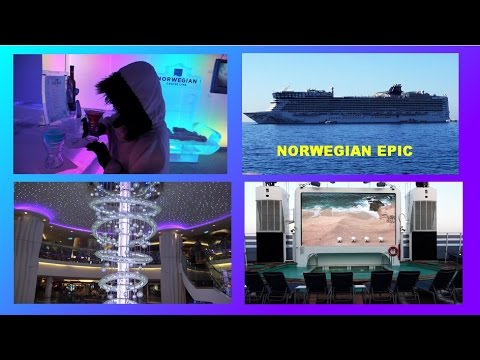 NORWEGIAN EPIC SHIP TOUR AND REVIEW IN 10 MIN