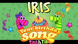 Tina&Tin Happy Birthday IRIS