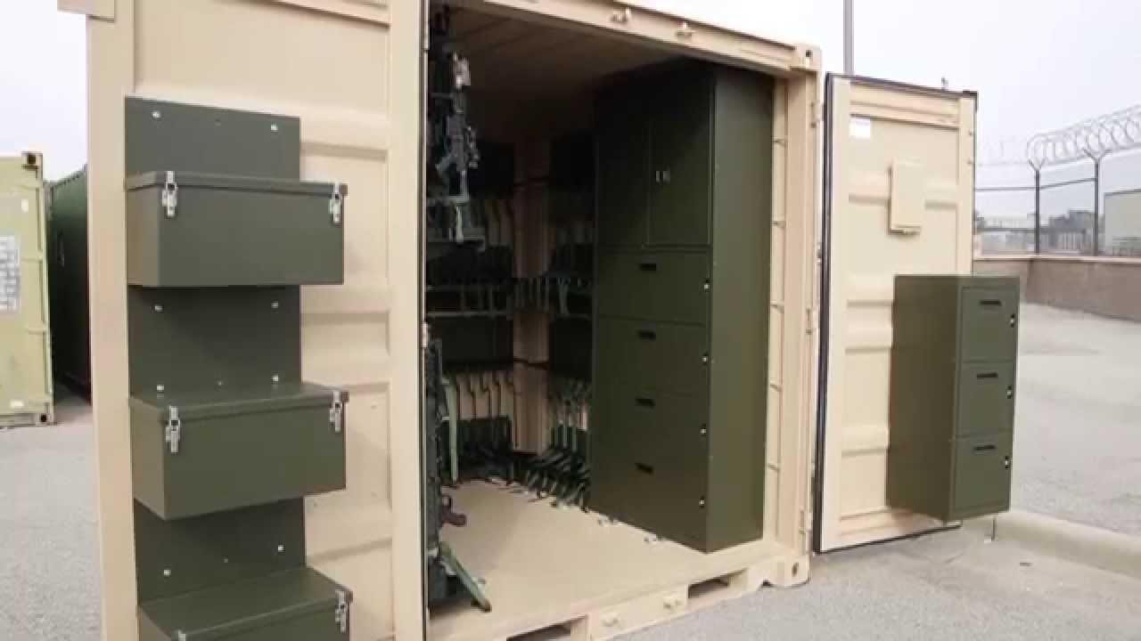 TRICON Shipping Containers for Military Weapons Deployment YouTube