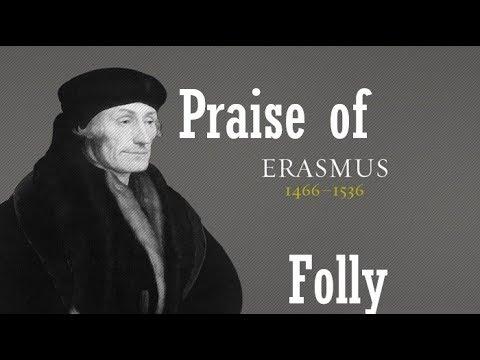 Praise Of Folly By Erasmus