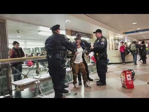 Penn Station Arrest