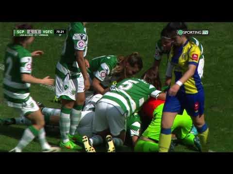Liga Allianz: Sporting CP 4 - 1 Valadares Gaia FC