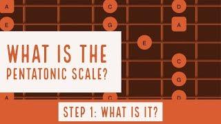What is a Pentatonic Scale? |  Part 1 | Steve Stine Guitar Lesson thumbnail