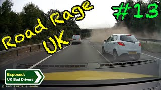 UK Bad Drivers, Road Rage, Crash Compilation #13 [2015](UK Dash Cam Compilation #13 to Expose UK Bad Drivers/Driving. Features Crashes, Road Rage and Crash for Cash from 2015. Contains Strong Language., 2015-10-24T16:05:34.000Z)
