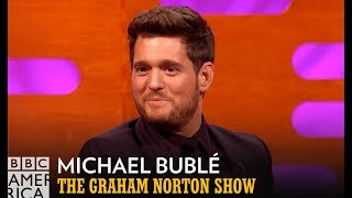 Michael Bublé Loves to Research | The Graham Norton Show | BBC America