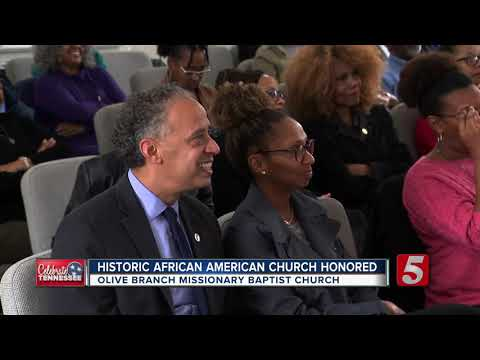 Historic African American Church Honored