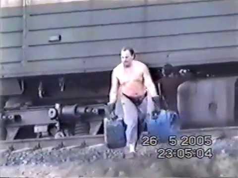 кража дизтоплива с локомотива