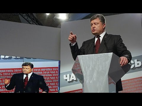 Ukraine: Election results as viewed by the country's east and west