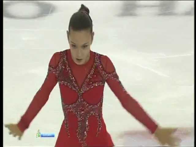 Adelina SOTNIKOVA 2012 SP Russian Nationals