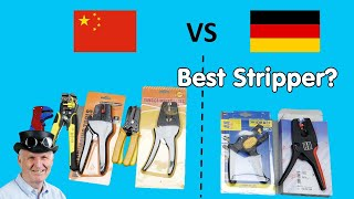 #268 8 Wire Stripper Test: Germany vs. China. Who wins?