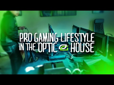 Pro Gaming Lifestyle in The OpTic House