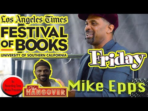 Los Angeles Times Festival Of Books 2018: Mike Epps Panel