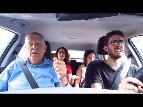 Carpool Karaoke with Nobel Prize Winner Dan Shechtman