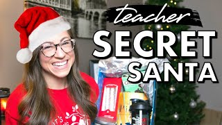 TEACHER SECRET SANTA 2020