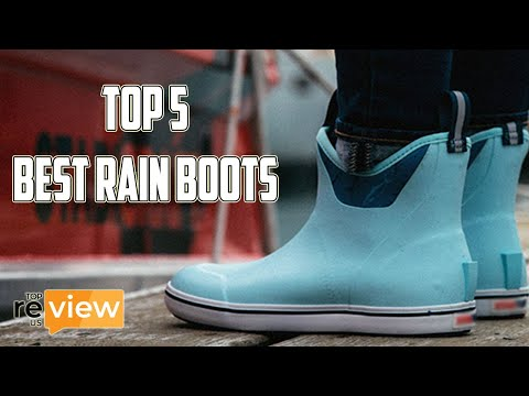Top 5 Best Rain Boots Review
