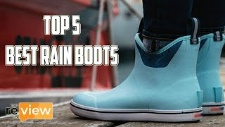 Top 5 Best Rain Boots Review