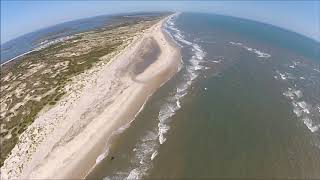 Mike and Sharee fly the Outer Banks with Coastal Helicopters!