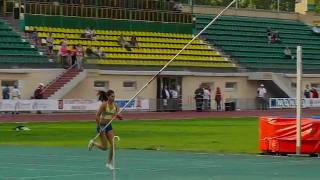 EYOT 2010 - Angelica Bengtsson - 4.47m - World Youth Record