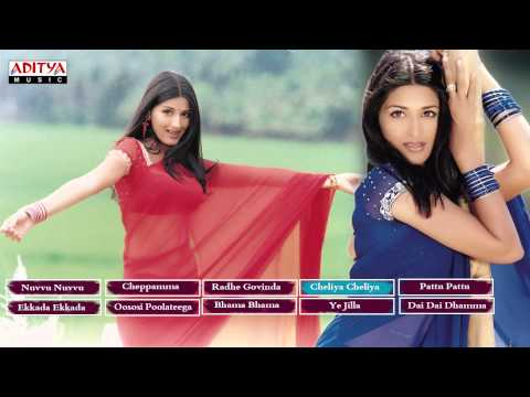 Sonali Bindre Tollywood Hit Songs  || jukebox