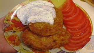 Колдуны (дранники), по моему авторскому рецепту с очень вкусной рыбой внутри