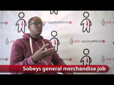 Sobeys General Merchandise Job